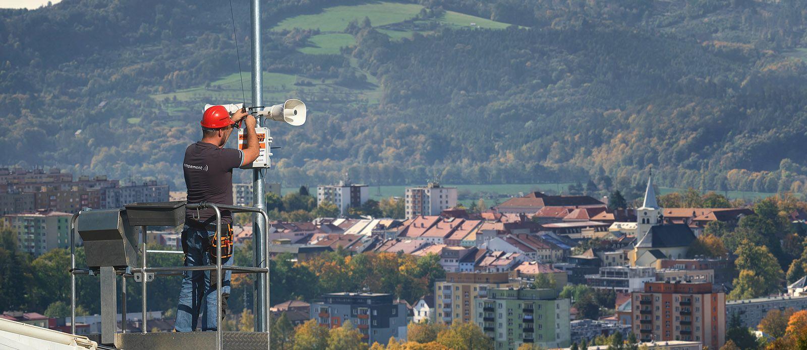 Informační a vyrozumívací systémy pro města a obce - Empemont